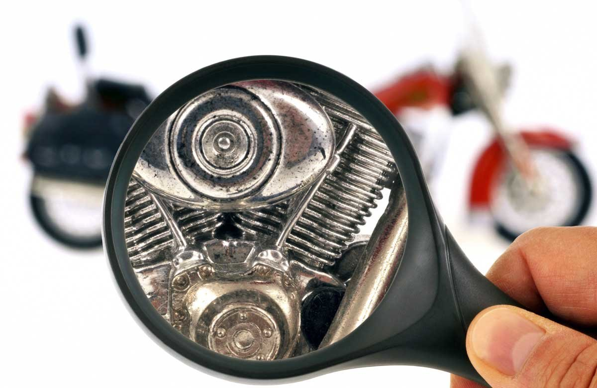 Motorcycle Inspection through a Magnifying Glass