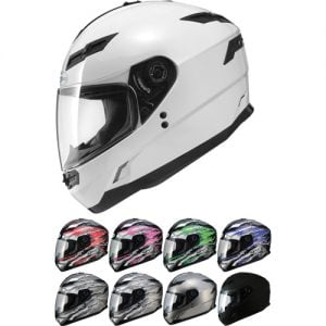 Selection of Optional Colors for GMAX GM78 Helmet