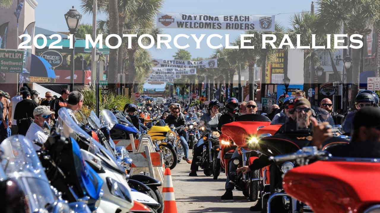 Motorcycle Rallies in 2021