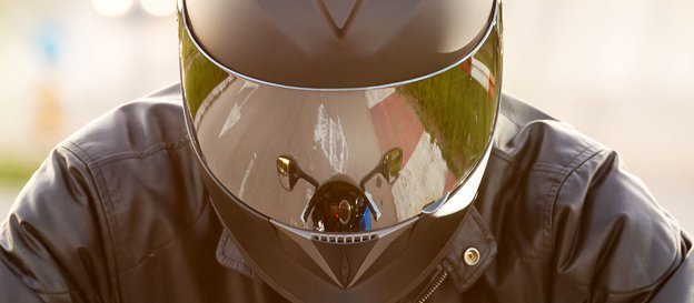 Motorcycle Riders Helmet