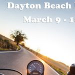 Riding a motorcycle to Daytona
