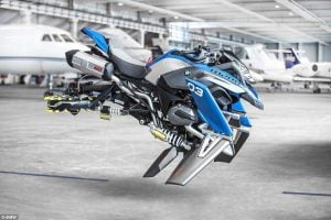 BMW Flying Motorcycle Concept