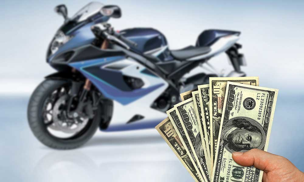 Buying Motorcycle With Cash