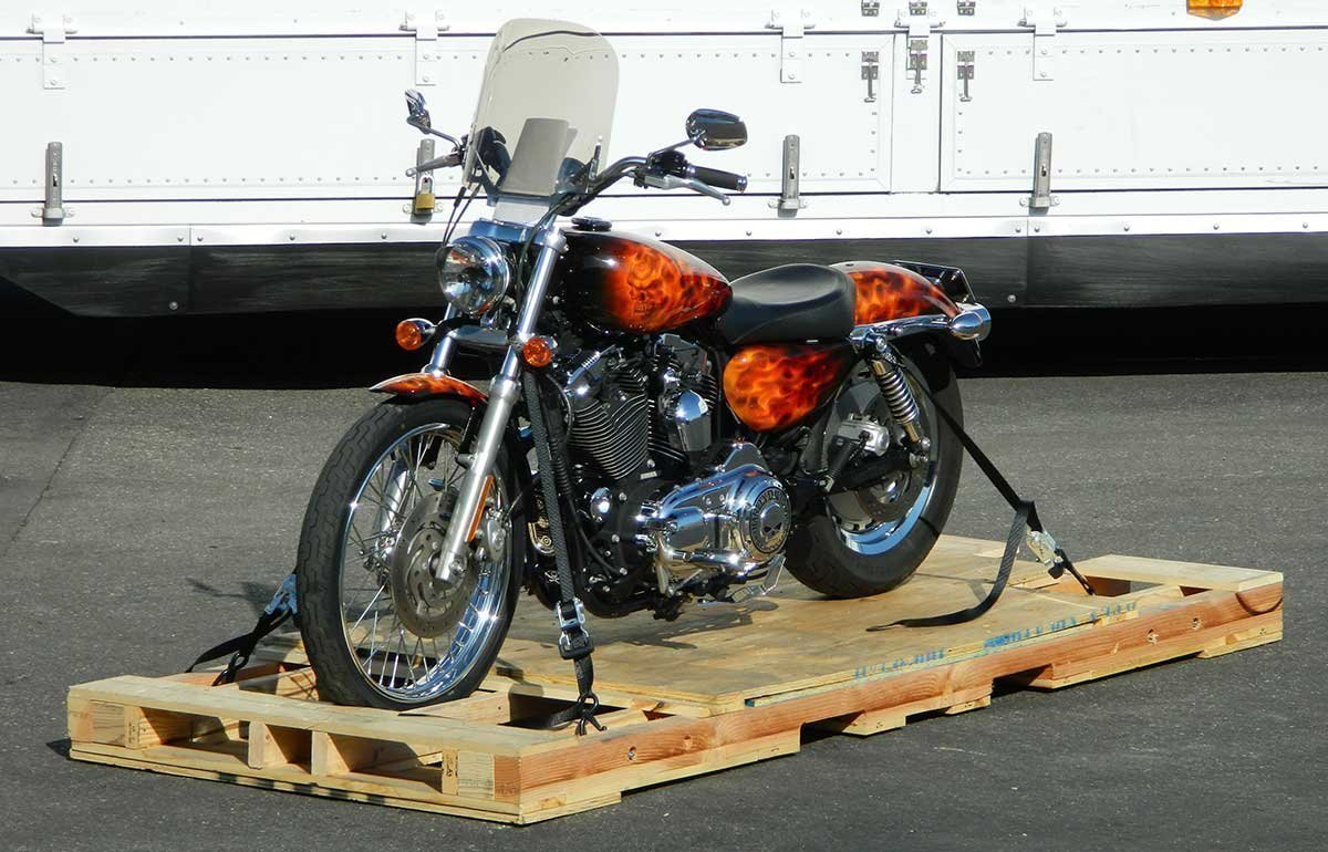 Getting Tied Down Is Good - Motorcycle Shippers