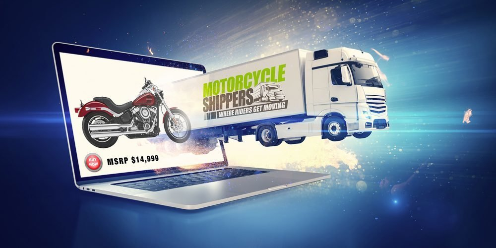 Motorcycle Shipping Truck