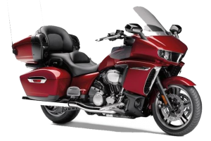 Red Yamaha Star Motorcycle