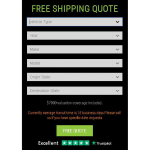 Free Shipping Quote Form