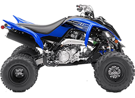 Blue Yamaha Raptor