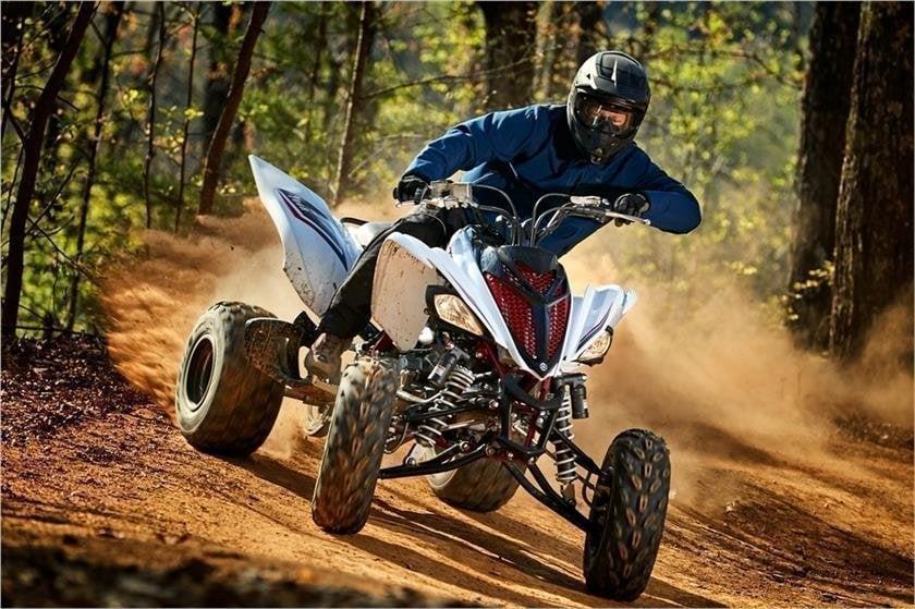 Quad Riding in the Dirt