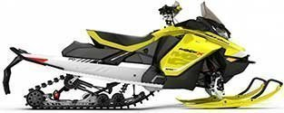 Yellow Snowmobile