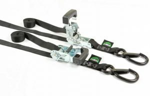 2 Soft Cinch Motorcycle Tie Downs