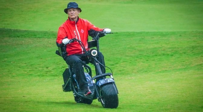 Motorcycles are Taking Over Golf Courses Near You