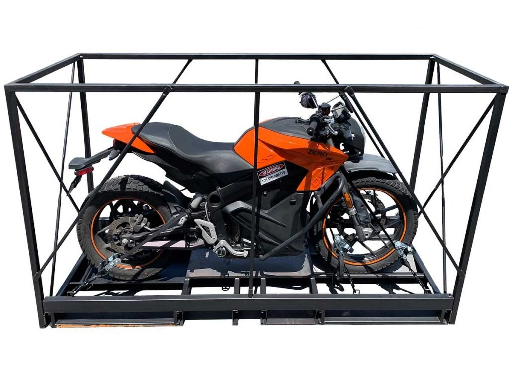 pop up motorcycle crate