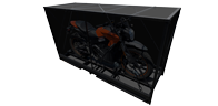 pop up motorcycle crate not assembled