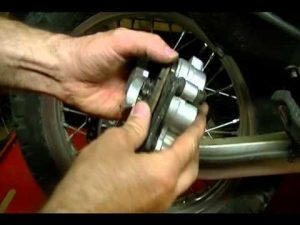 motorcycle brake inspection