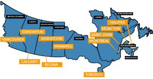 canada motorcycle shipping terminals
