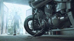 garage motorcycle pickup delivery