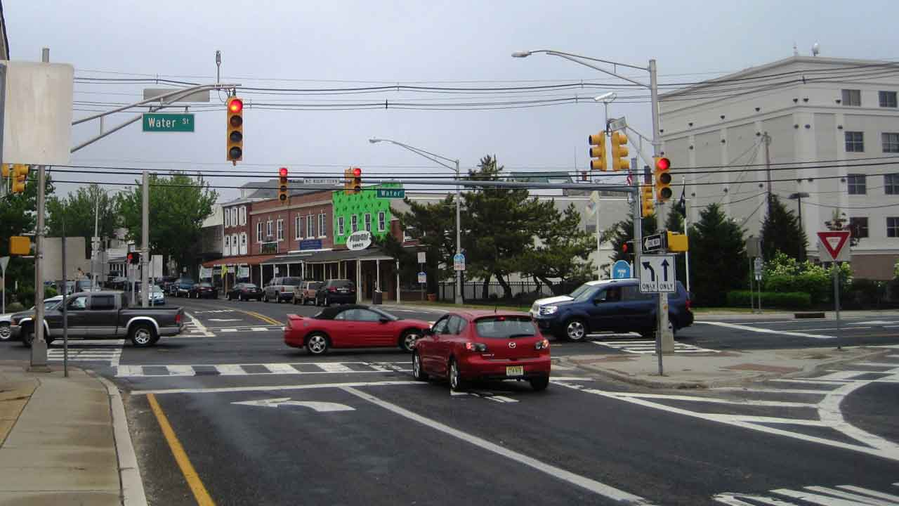 Downtown Toms River New Jersey