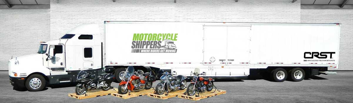 motorcycle shippers warehouse bikes