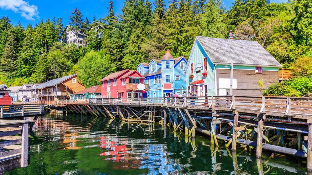 ketchikan alaska creek street historic boardwalk