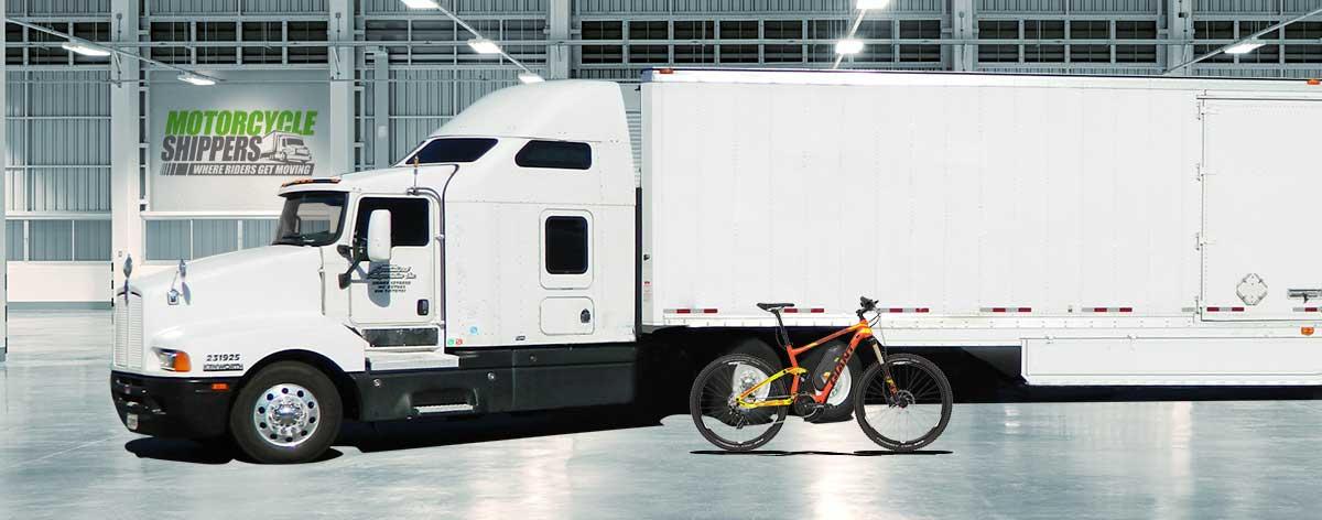 mountain ebike shipping