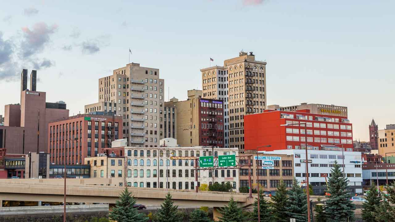 Downtown Duluth, Minnesota