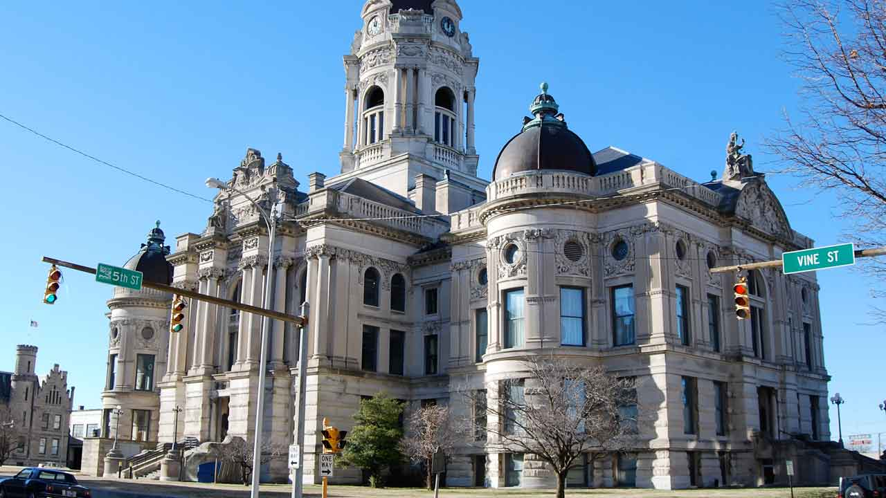 Old Courthouse in Evansville Indiana