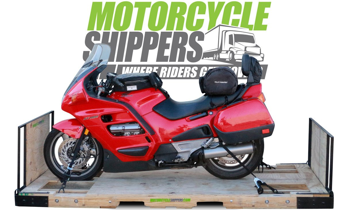 ST1100 Motorcycle Shippers Advanced Shipping System