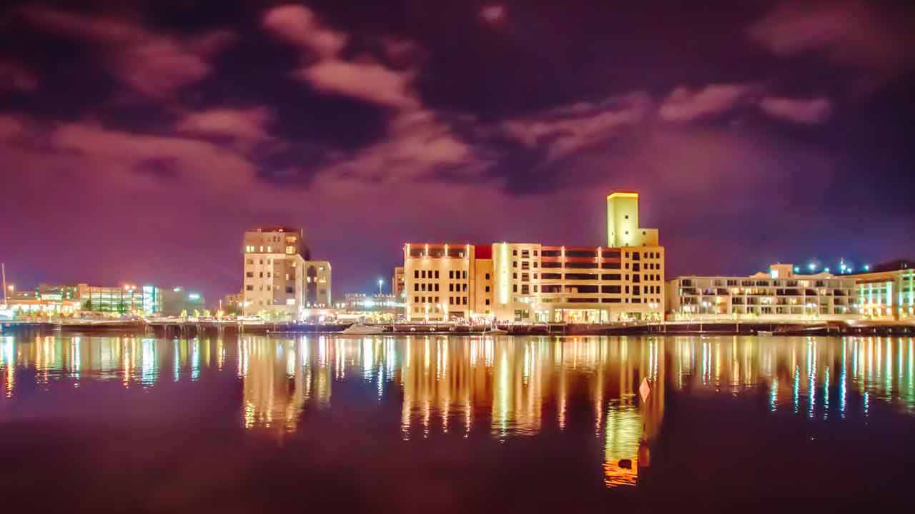 Downtown Green Bay Wisconsin